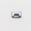 Fancy Sapphire-5x4mm-0.47CTS-Light Lilac-Emerald